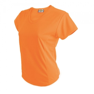 CAMISETA MUJER D&F NA FLUO S