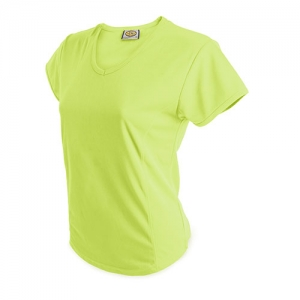 CAMISETA MUJER D&F AM FLUO M