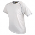 D&F ROYAL SEWING WHITE T-SHIRT