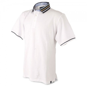 POLO H CUELLO DSMNTABLE BL XXL
