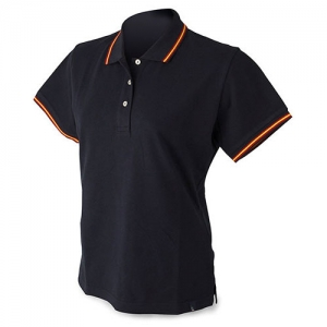 WOMAN FLAG POLO P. DELONE