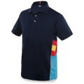 MAN CN SPAIN COLUMNS NAVY POLO