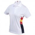 WOMAN CN SPAIN COLUMNS WHITE POLO
