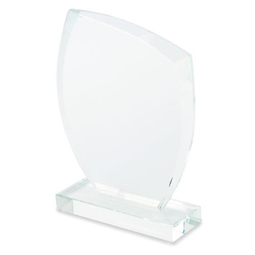 BEVELED GLASS PLAQUE