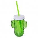 GLASS MUG CACTUS