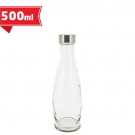 GLASS WATER BOTTLE 0,5L AQUA S