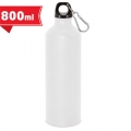 Aluminium bottle 800 ml with carabiner