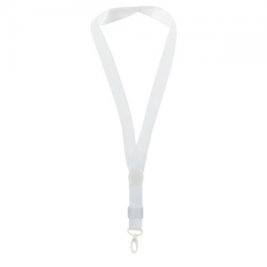LANYARD AJUSTABLE BLANCO