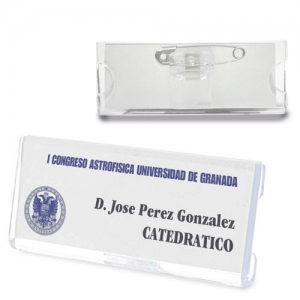 RECTANGULAR ID BADGE