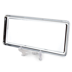 CHROME RECTANGULAR TRAY