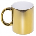METALIC CERAMIC MUG GOLD