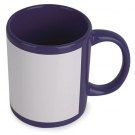 MUG SUBLIMACION COLOR MARINO