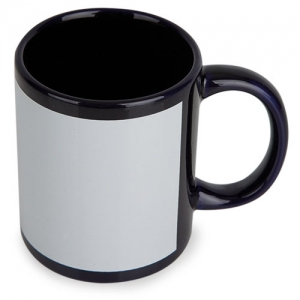 MUG SUBLIMACION COLOR NEGRO