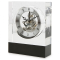 BLACK STRIPE WALLCLOCK