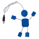 PUERTO USB MAN 2.0 AZUL