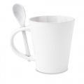 CERAMIC MUG SPOON SUBLIMATION