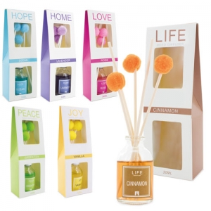 AIR FRESHENER POM POM (PACK 6)