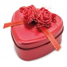 ROSES HEART CASE  RED