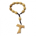 WOODEN ROSARY TAU