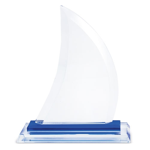GLASS TROPHY