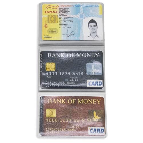 TRIPLE CARD HOLDER