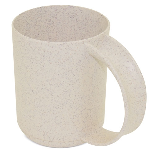 Glass of wheat fiber