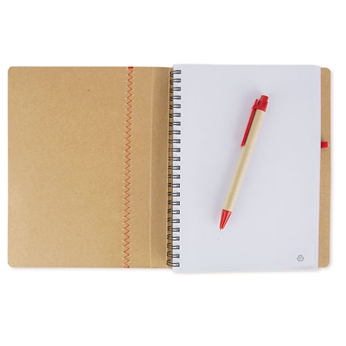 A5 RECYCLED CARTOON NOTE BOOK