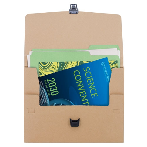 RECYCLED CARTON CONFERENCE BAG