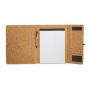 CARPETA CON BLOC CORCHO NATURAL