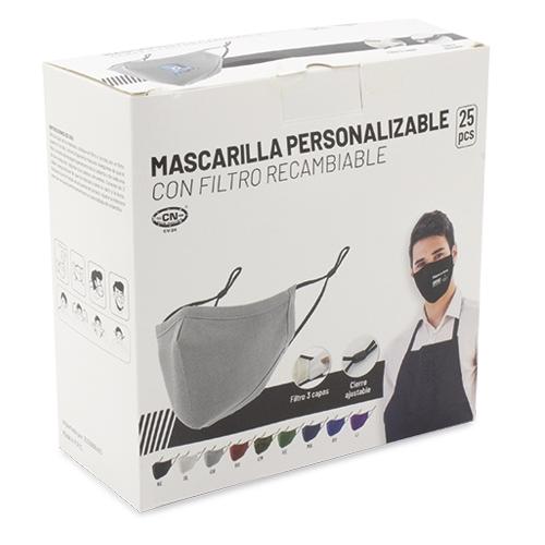 MASCARILLA CON FILTRO  REUTILIZABLE ESPAÑA