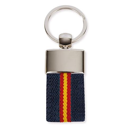 BELT FLAG KEY-RING