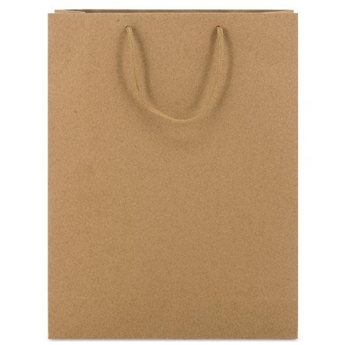 CARDBOARD BAG WITH LOOPSE HANDLE