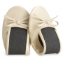 ZAPATILLA PLEGABLE ORO (12 PARES)