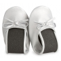 ZAPATILLA PLEGABLE PLATA (12 PARES)