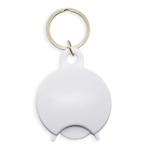 ROUND DESIGN CADDIE KEY-RING