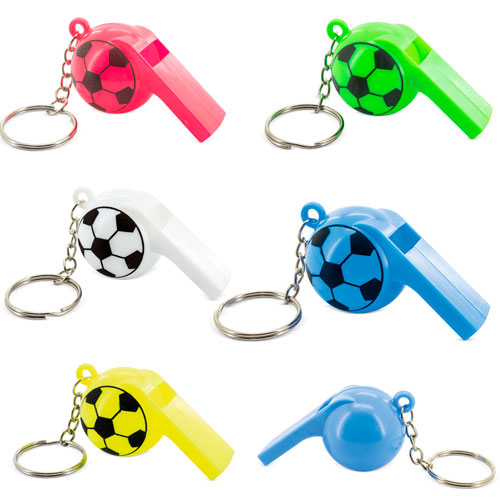 KEY-RING + WHISTLE