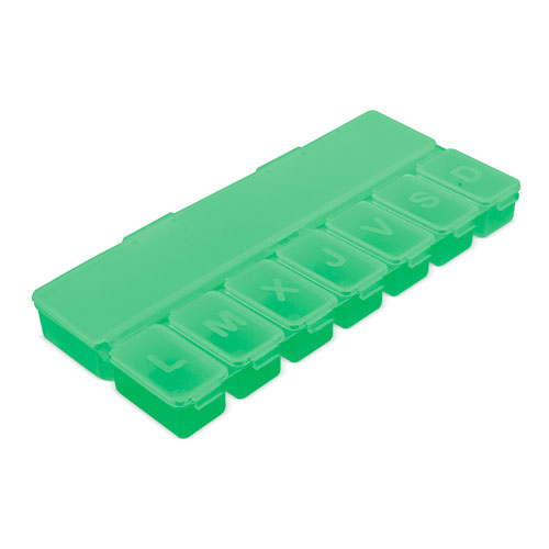 8 COMPARTMENTS PILL BOX