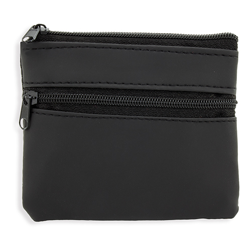 DOUBLE ZIP PURSE LAUREN