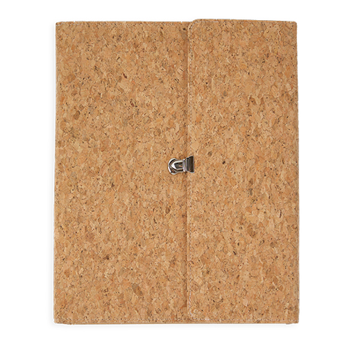 CORK FOLDER WITH BLOCK