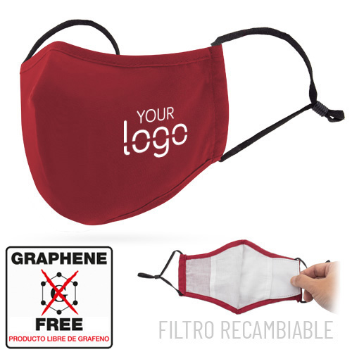 MASK WITH GREAT COMFORT REUSABLE FILTER