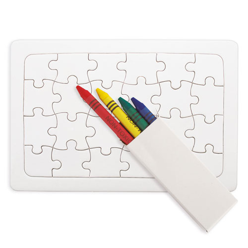 PUZZLE WITH WAXES