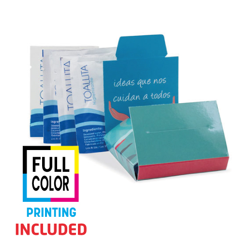 COVER PLUS 4 HYGIENIZING GEL WIPE