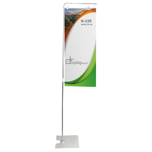 ADJUSTABLE PROMOTIONAL BANNER HOLDER