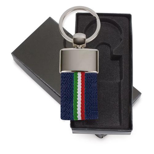 LLAVERO CEINTURE DRAPEAU ITALIE MARINE