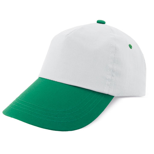 TWO COLORS 5 PANELS CAP