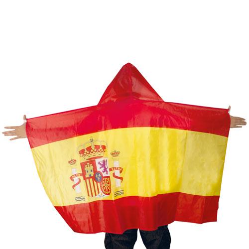 SPANISH FLAG PONCHO