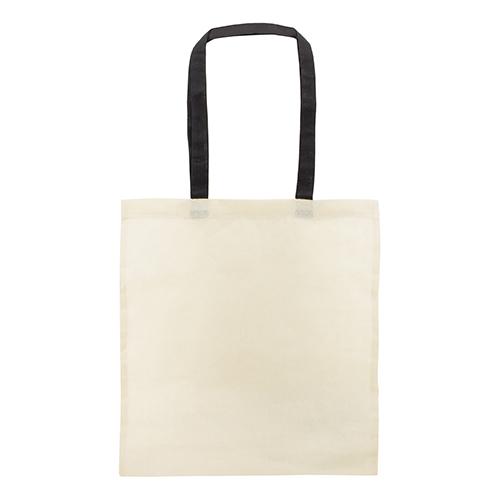COTTON BAG COLOURED HANDLE