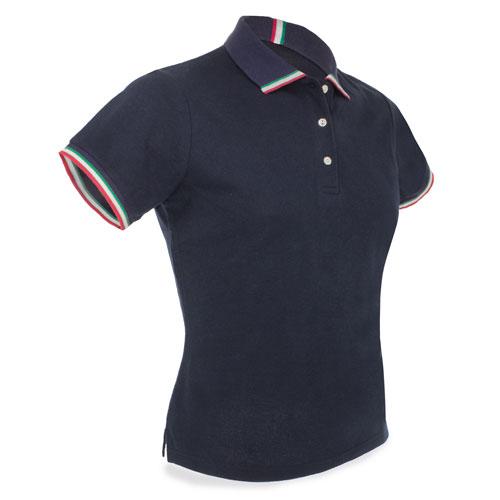 Polo with italian flag
