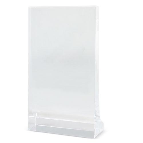 RECTANGULAR SHAPED GLASS TROPHÉE