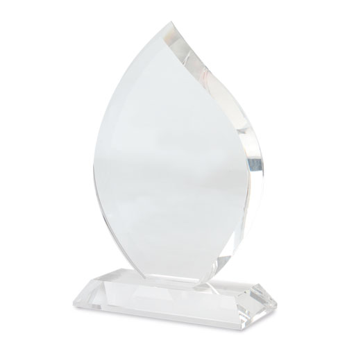 TEARDROP SHAPED GLASS TROPHÉE